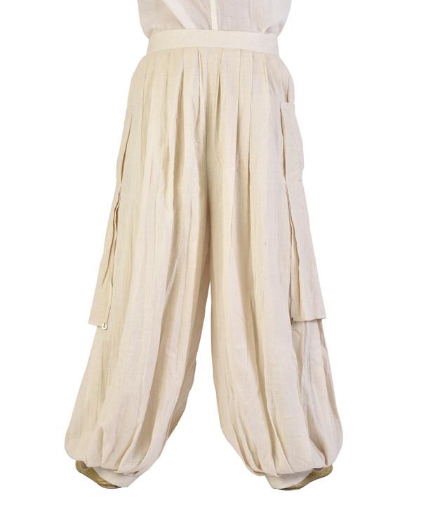 Off white dhoti pants 1