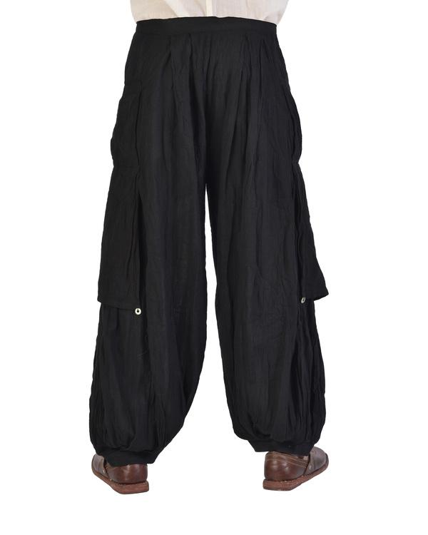Black dhoti pants 1