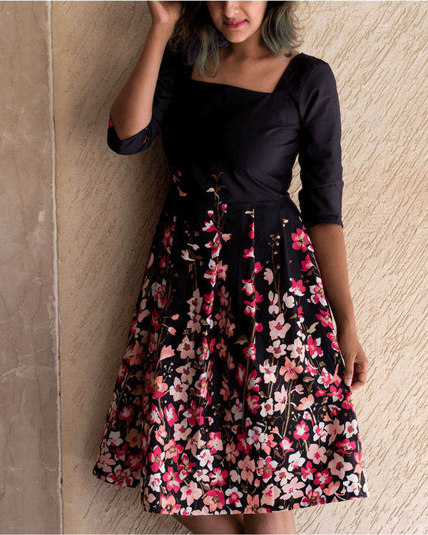 Midnight blush dress 1