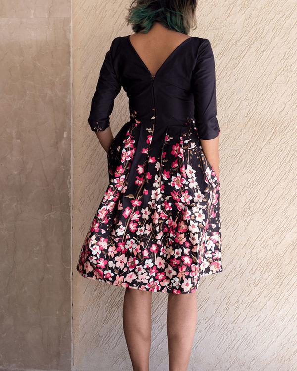 Midnight blush dress 2
