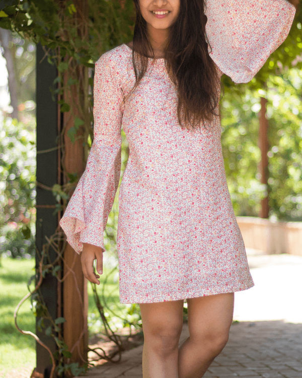 Persimmon bell sleeve dress 1