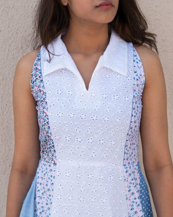 White multiprint dress 2