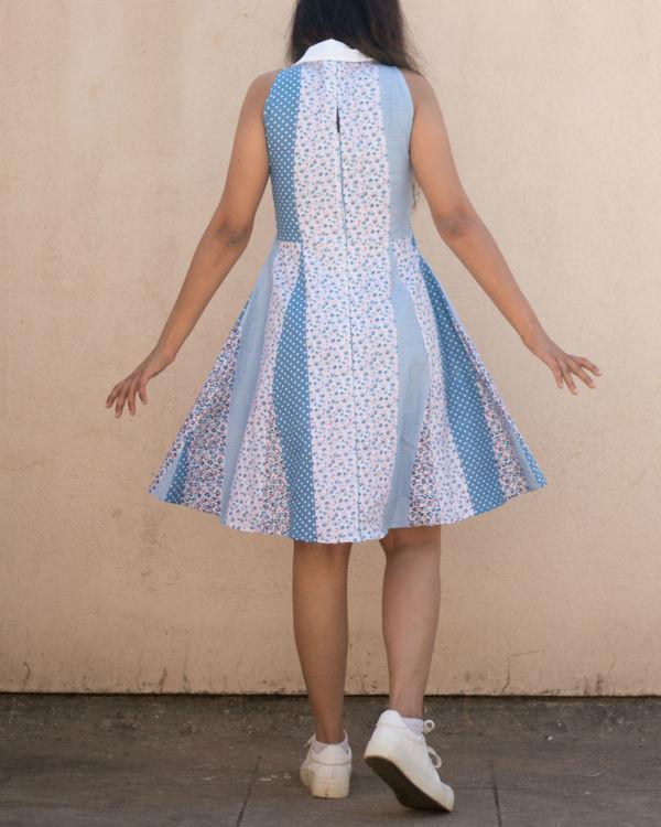 White multiprint dress 3
