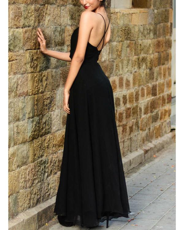 Black vintage gown 2