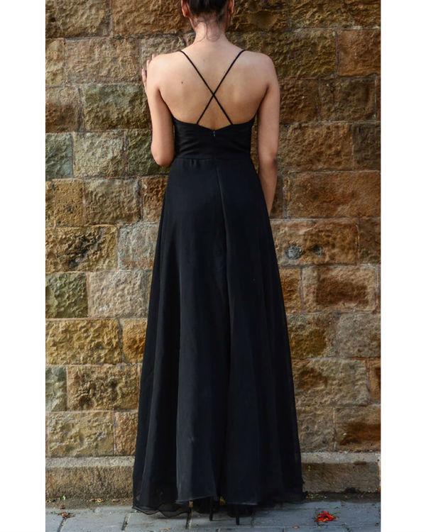 Black vintage gown 3