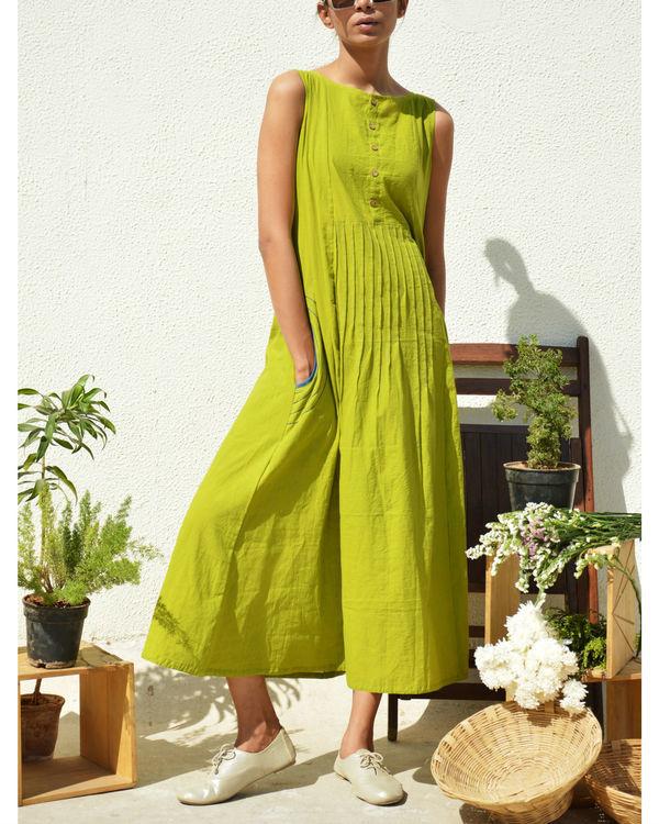 Waist pintuck dress 1