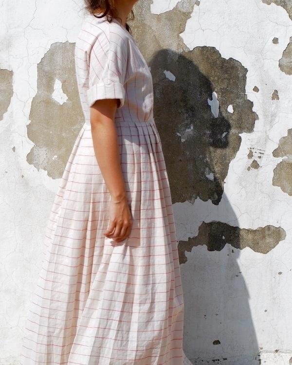 Kimono summer maxi dress 1