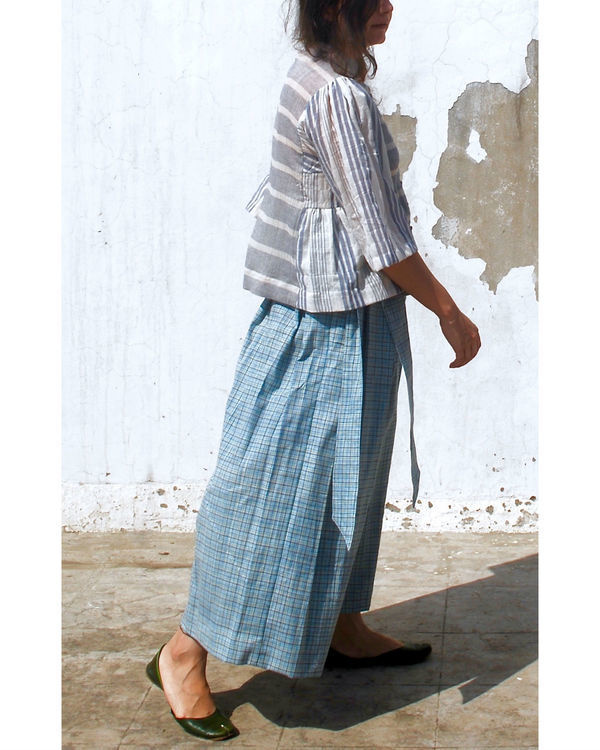 Paper bag waist pants 1