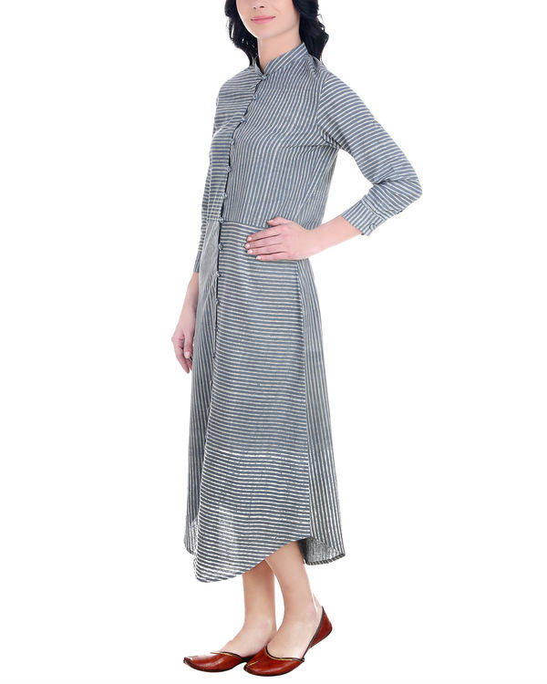 Dabu striped button down tunic 1
