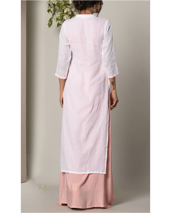 Mud pink layer dress 2