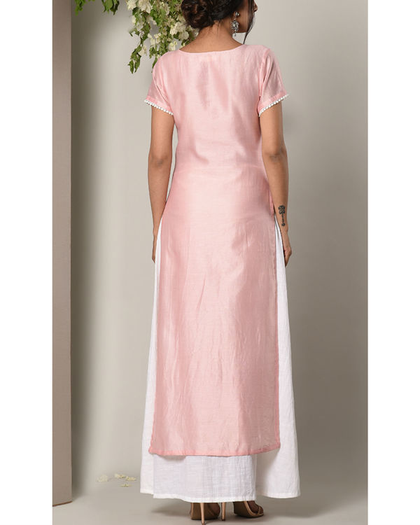 Rose pink layer dress 2