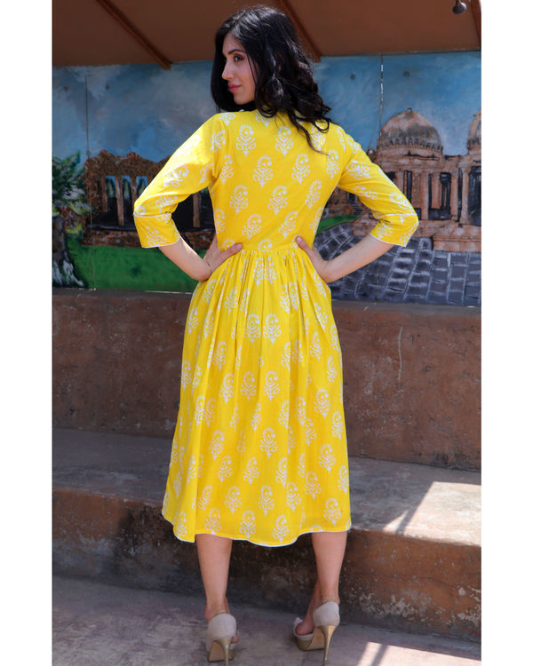 Citrus yellow midi 2