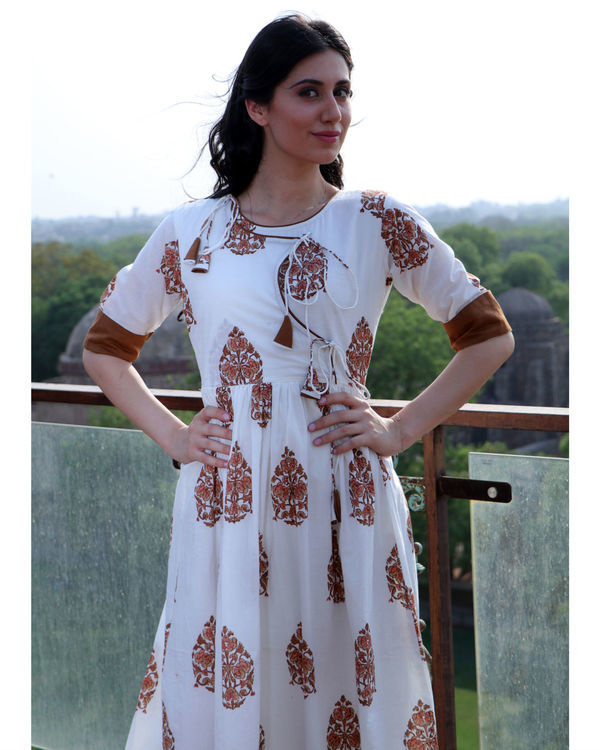 Cinnamon angrakha dress 1