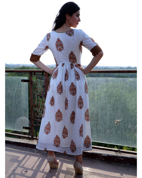 Cinnamon angrakha dress 2