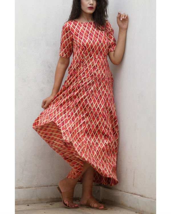 Red checkered maxi 2