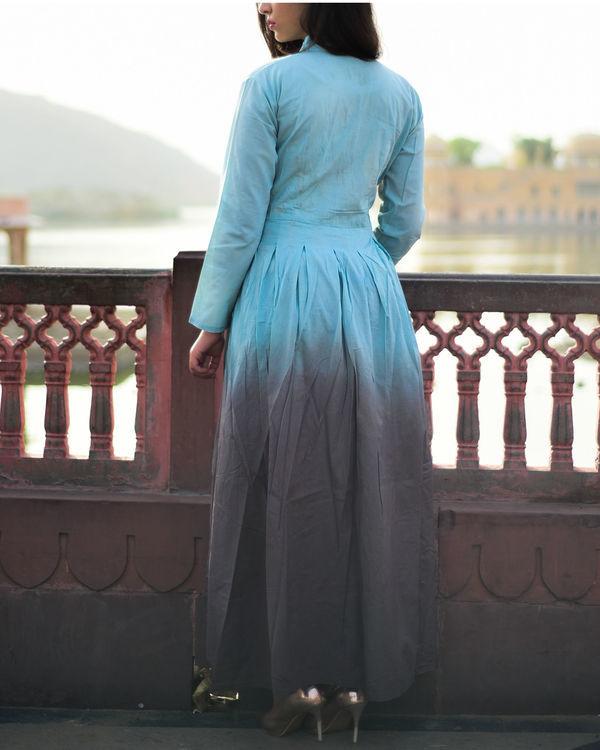Ombre angrakha dress 1