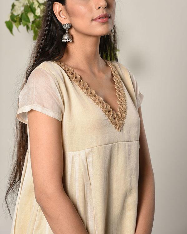 Ivory sufi jute dress 2