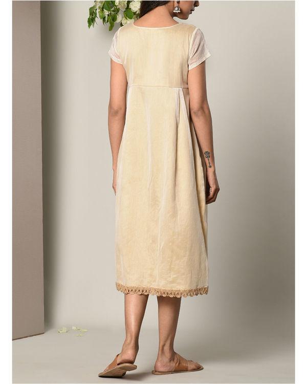 Ivory sufi jute dress 3