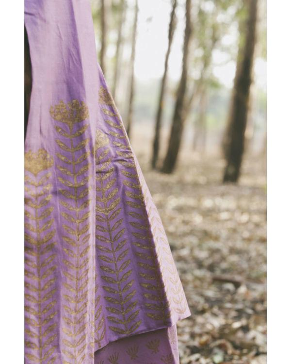 Lavender Orchid Floral Printed Set 2