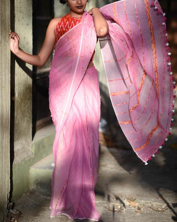 Fairy pink sari 1