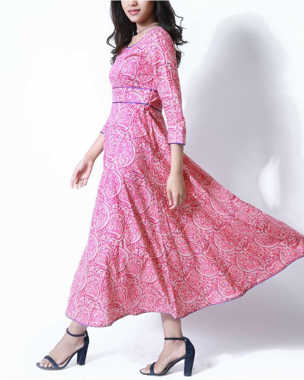 Pink paisley tunic 1