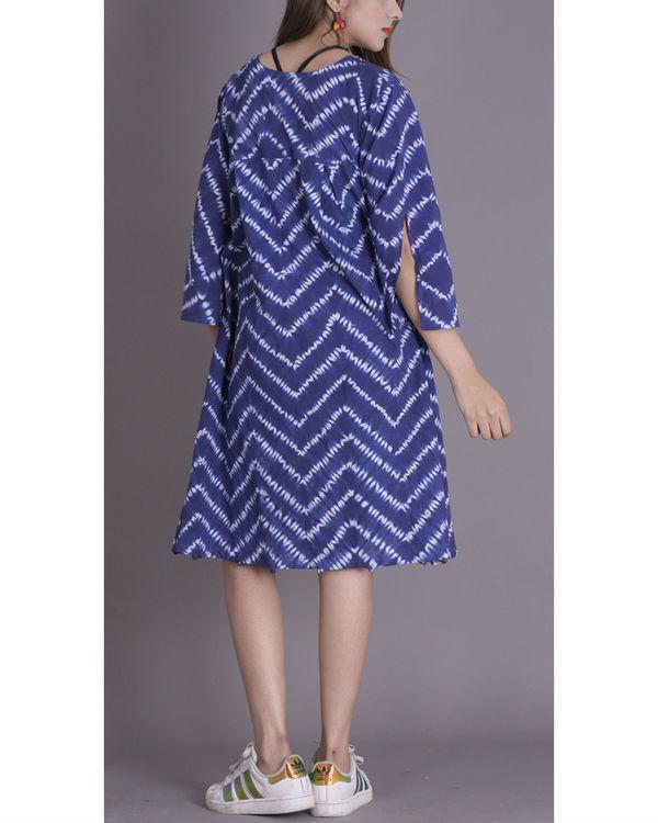 Prussian shibori potli dress 2