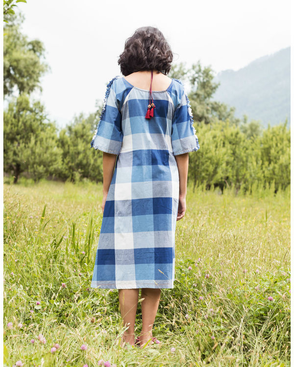 Rainforest blue raglan dress 1