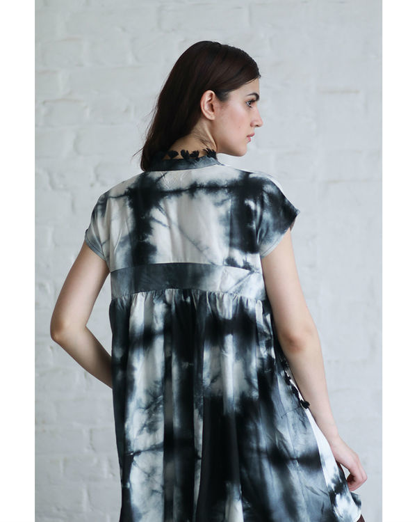 Ash tie and dye tunic 1