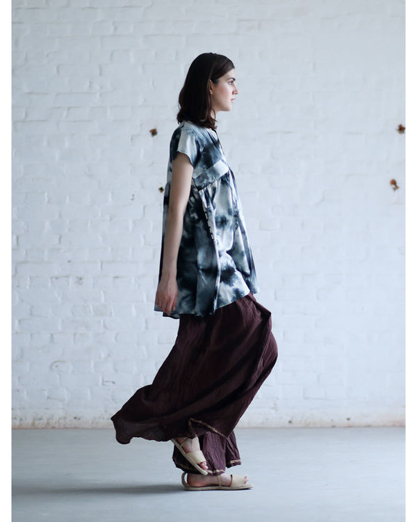 Ash tie and dye tunic 3