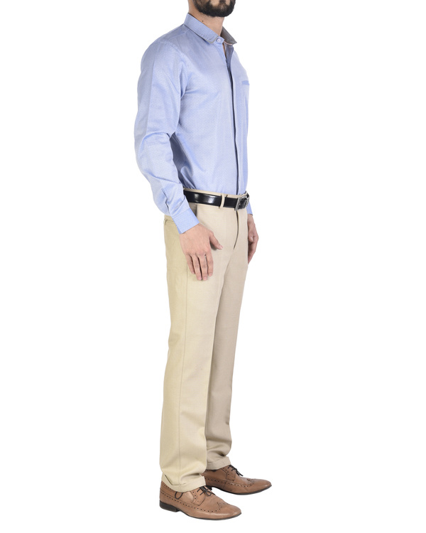 Biscuit formal trousers 1