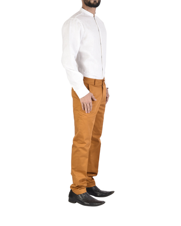 Rust twill trousers 1
