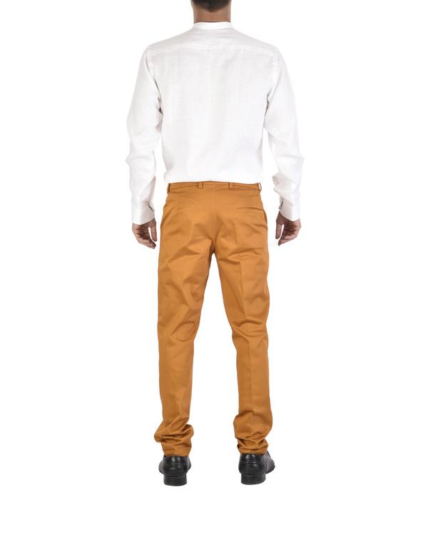 Rust twill trousers 2