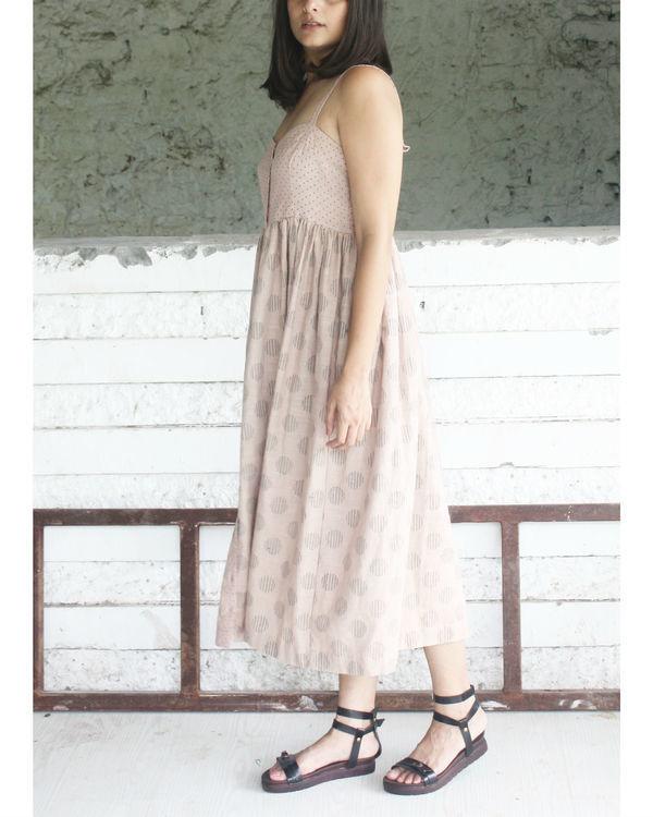 Pink slip dress 1