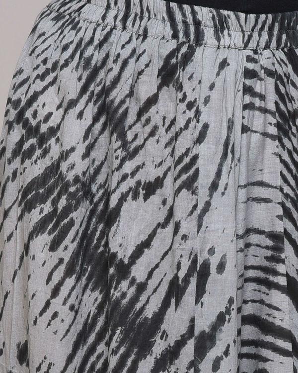 Black clamp dyed harem pant 3