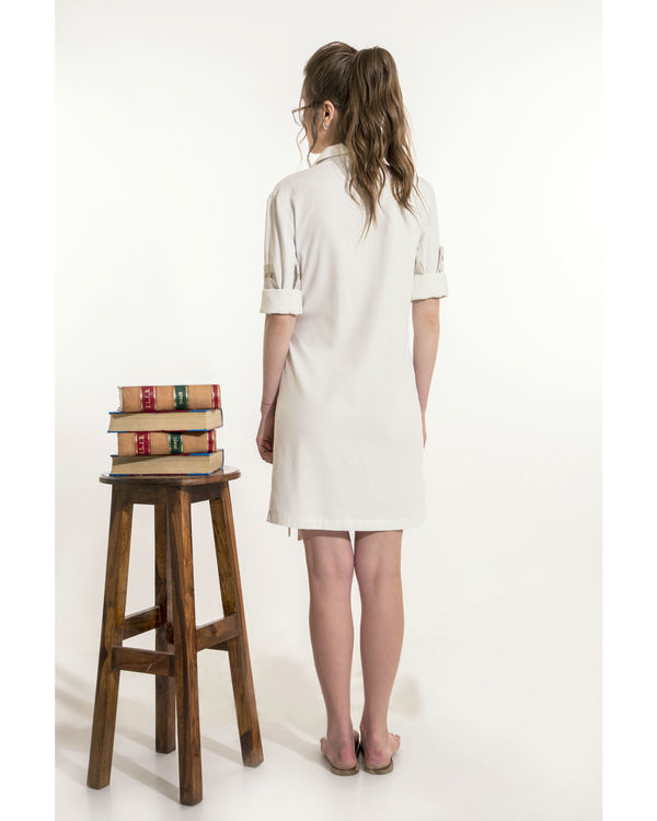 Off-white shirt dress 1