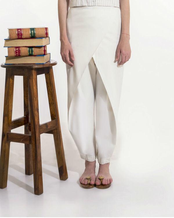 Off-white overlap pants 1