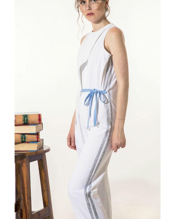 White jumpsuit 1
