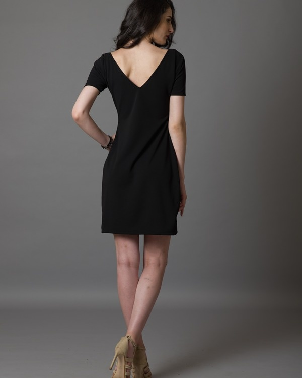 I-see-gold black dress 3