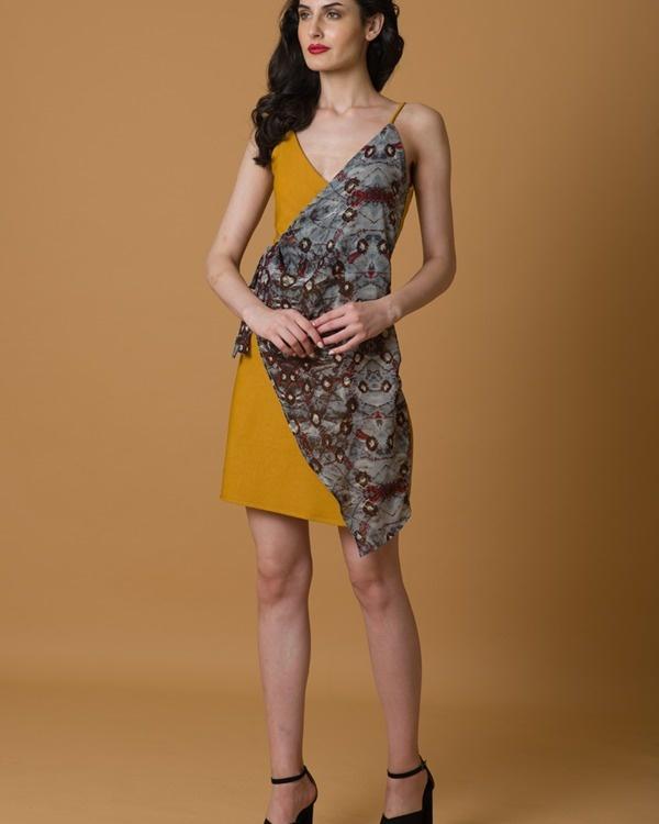 Wrap and tie dress 3