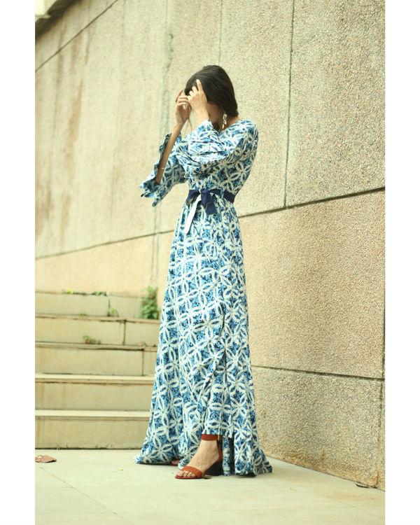 Ocean belt dress 3