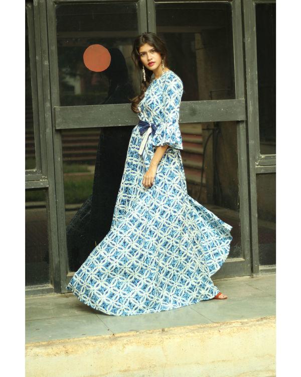 Ocean belt dress 2