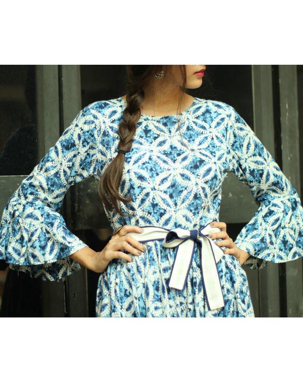 Ocean belt dress 4
