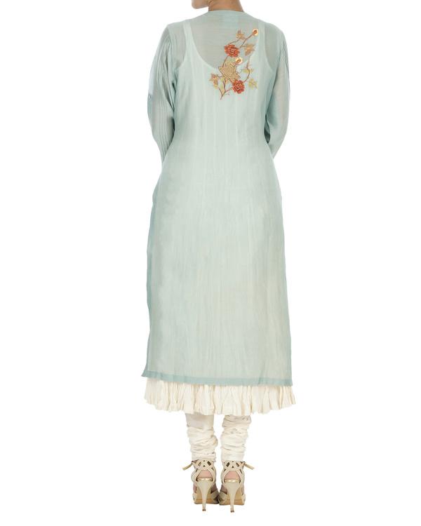Turquoise kurta set 1