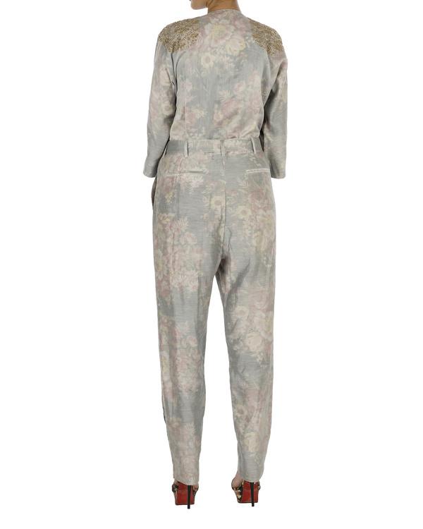 Silver jumpsuit 1