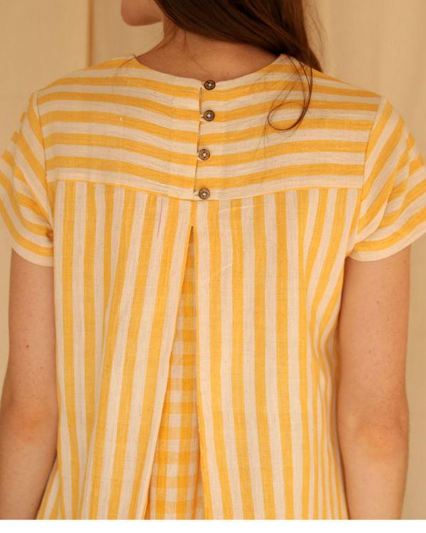 Checkered shift dress 3