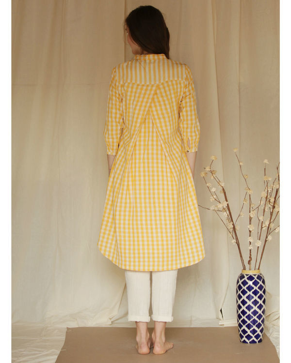 Yellow checkered tunic 2
