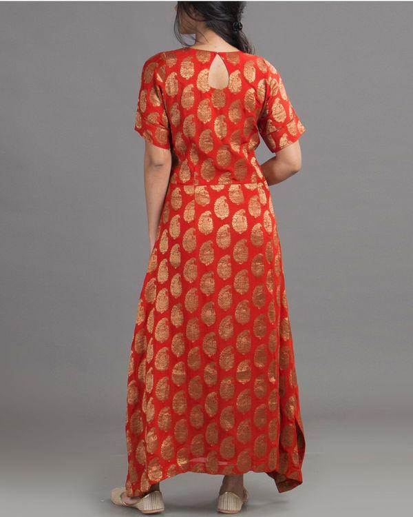 Royal red dress 2
