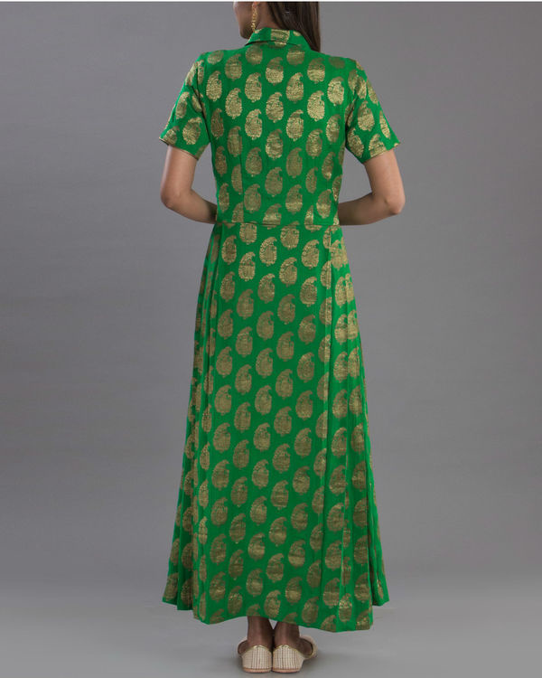 Regal green gown 2