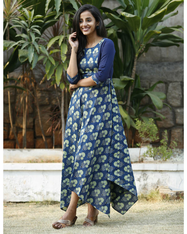 Green phool dress 2