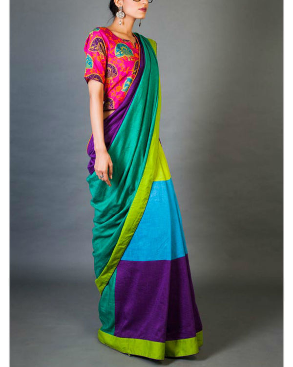 Hues and tints sari 3